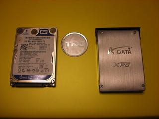 Inspiron 1526 SSD化 換装