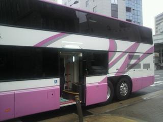 Willer bus Prima 中央乗降口