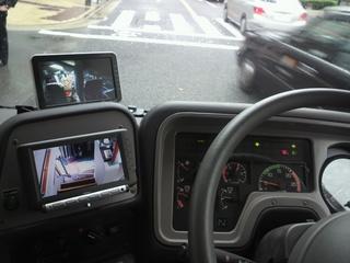 ウイラーバス Prima 運転席用車内モニター