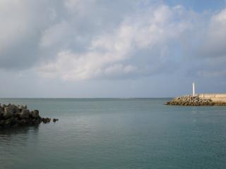 久米島でマグロ釣るぞ