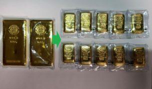 金分割は井島金属精錬